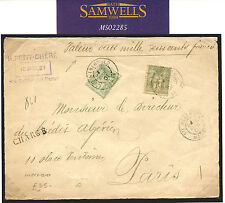 MS 2285 * 1901 Francia correo asegurado * 1 FR * Peace & Sainte-Menehould Frente De Comercio