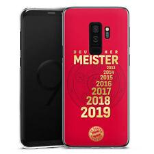 Samsung Galaxy S9 Plus Handyhülle Case Hülle - 7X MEISTER FC Bayern München