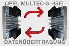OPEL MULTEC S HSFI MOTORSTEUERGERÄT FLASH-SERVICE DATENÜBERTRAGUNG