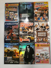 Lot Of 9 Spanish Dvds New Sealed Lot, Free Shipping