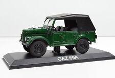 GAZ 69a Escala 1:43 Verde de Atlas die-cast