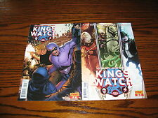 Dynamite- Kings Watch #2 and #5 Comic Lot! Glossy Vf+ 2013