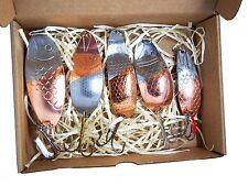 Pesca cuchara hecho a mano juego , cuerda, lucio cebo,anzuelo lubina P