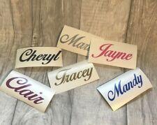 Personalised Name / Word Vinyl Sticker Decal Wedding Gift Custom Small