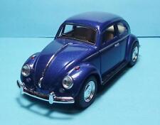"1967 Volkswagen Classic Beetle 5"" Die Cast w/Pull Bk Power & Opening Drs Blue 8"