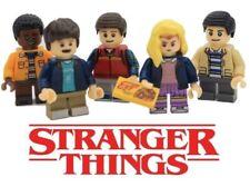 Stranger Things lego set de 6 mundo del reves .once con doble cara