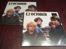 U2 OCTOBER 180G COLLECTORS 16 PAGE BOOK ORIGINAL 2008 W/STICKER PLAY 1 COLLECT 1