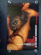 AFTER DARK HORRORFEST Original 2000s OS Movie Poster Horror Tatoo Art Girls Back