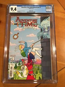 Adventure Time with Fionna & Cake #1 (2013) Kaboom Variant Cover B 9.4 HBO