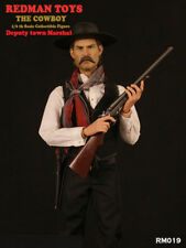 REDMAN TOYS 1/6th RM019 The Cowboy Deputy Town Marshal Figure Collection Toy