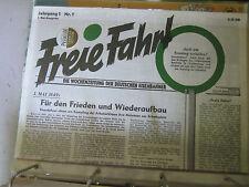 Das war die DR Faksimiles 10 Freie Fahrt 1. Mai9 1949
