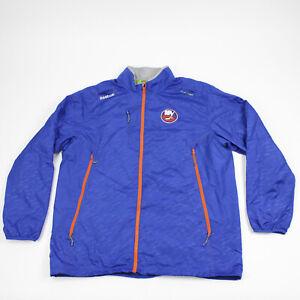New York Islanders Reebok  Jacket Men's Blue Used