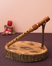 SOPILKA Ukrainian Chromatic Collapsible in D #14s Tin Penny Whistle, Bag - Video