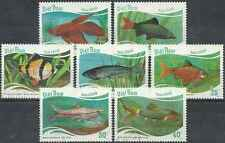 Timbres Poissons Viet Nam 816/22 o lot 20067