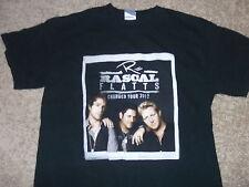 "Rascal Flatts ""Changed"" 2012 Us tour shirt Adult Medium near mint great design"