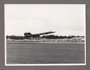 LOCKHEED SR-71 BLACKBIRD LARGE VINTAGE ORIGINAL MOD PHOTO US AIR FORCE 4