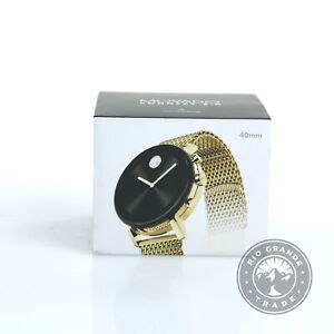 NEW Movado 3660026 Men's BOLD CONNECT 2.0 Watch in Gold Stainless Steel
