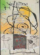 Catalogue livres modernes éditions originales, estampes surréalisme Cendrars etc
