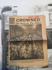 The Star June 2, 1953 Coronation of Queen Elizabeth II