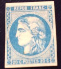 France Bordeaux N° 46 B 20 C Bleu NSG TB D'aspect Très Frais Côté 500€
