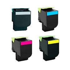 4 Toner Cartridge For Lexmark X543DN X544N X544DN X544DTN X544DW X546DTN