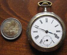 Antico orologio da tasca Remontoir Cylindre 6 Rubis fine 800 inizi 900