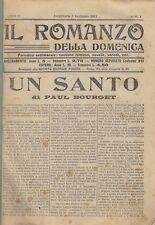 IL ROMANZO DELLA DOMENICA 1911 26 numeri I semestre  società editrice Romana  *