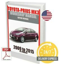 Toyota Prius Mk3 Workshop Service Repair Manual 2009-2015