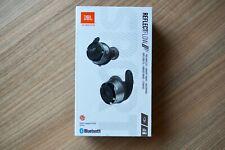 JBL Reflect Flow Black Waterproof True Wireless In-Ear Sport Headphones - NEW