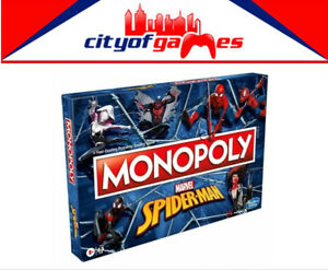 Monopoly Spider Man Board Game Brand New Pre Order