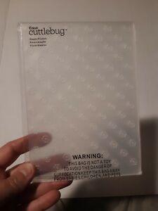 Cuttlebug Simple Flowers Embossing Folder New