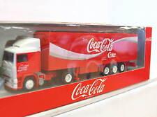Albedo 400100 Volvo F12 Koffersattelzug Coca Cola OVP (N6261)