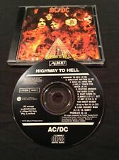 AC/DC HIGHWAY TO HELL CD AUSTRALIA EARLY  BLACK ALBERT PRODUCTIONS CBS 465261 2
