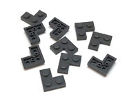 Lego Platte Ecke 3x3 new Grau 4 Stück 863