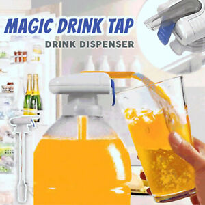 Electric Automatic Water Drink Pump Magic Tap Beverage Dispenser Spill Proof AY