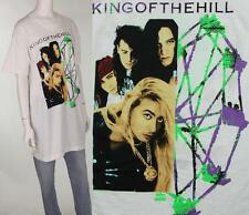 90s Vintage King Of The Hill Glam Rock Concert Tour Band Tee T Shirt
