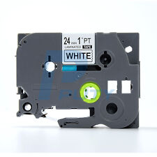 """New Compatible TZ-251 Brother P-Touch 24mm Black on White TZ251 TZE-251 1"""""""