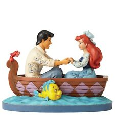 Disney Traditions Waiting for a Kiss - Ariel & Prince Eric Figurine NEW
