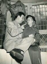 CHRISTIAN JAQUE  RENEE FAURE  D'HOMME A HOMME  1948 VINTAGE PHOTO ORIGINAL
