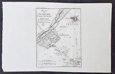 1784 Du Bocage & Barthelemy Antique Map of Plato's Academy in Athens, Greece