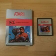 E.T. Atari 2600 The Extra Terrestrial VCS PAL Boxed & Tested PAL Version ET