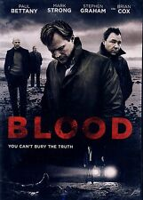 NEW DVD // Blood  // Paul Bettany, Stephen Graham, Mark Strong, Brian Cox, Naomi