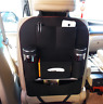 Car Seat Back Multi-Pocket Storage Bag Organizer Holder Accessory Black Hanger