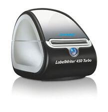Dymo LabelWriter 450 Turbo Label Thermal Printer - Black/White