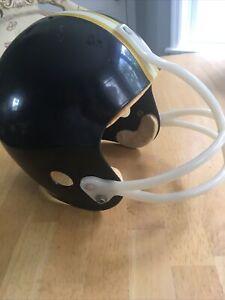 Pittsburgh Steelers Vintage 1970s Store Model Football Helmet (No Decal Logo)