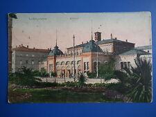 AK   Ludwigshafen Bahnhof gelaufen 1909  schöne Ansicht