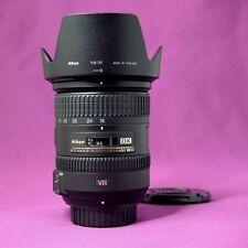 Nikon AF-S 18-200mm VR II DX ED f/3.5-5.6 Lens very good 1928B