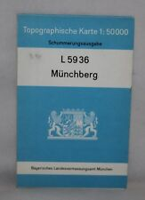 Germany - Munchberg - 1:50,000 Topographical Map - 1968