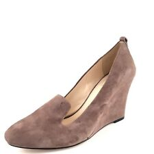 Vince Camuto Fadi Taupe Suede Wedge Pumps Women's Size 9 M*