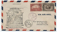 1934 Canada Port Menier-Havre St. Pierre flight cover with C2 [y2996]